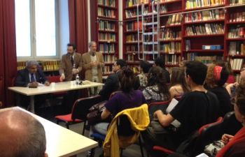 125th Birth Anniversary of Dr. B.R. Ambedkar - Celebration at La Sapienza University in Rome