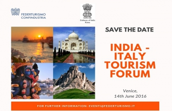 India-Italy Tourism Forum� at Venice (14th June, 2016)