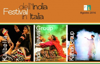 Rhythm of India : Festival of India in Italy from August 3-8, 2016