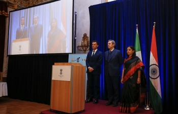 National Day Reception Organized by Embassy of India, Rome on January 26, 2018
