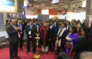 Big presence from India at the BIT International Travel Exhibition in Milan. Showcasing Incredible India to Italian tourists