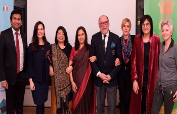 India meets Arezzo strengthening commercial ties and exploring new ventures together.