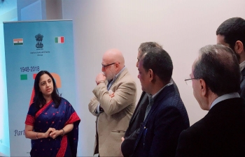 Tourism promotional event - 'Experiencing Incredible India' being organised in Rome at The Westin Excelsior Rome on March 28th 2018. Mr. Francesco Palumbo, Director General of Tourism, Ministry of Cultural Heritage, Activities and Tourism of Italy joined us at the event along with various guests from the tourism industry.