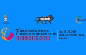 7th edition of Technotex 2018 scheduled on June 28-29, 2018 at Bombay Exhibition Centre, Goregaon, Mumbai, India.