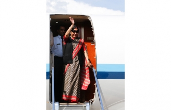 External Affairs Minister, Smt. Sushma Swaraj's visit to Rome on June 17-18, 2018.