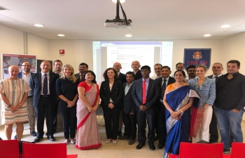 "Sep 17th: Inauguration of Italy- India joint S&T Workshop on ""Renewable energy technologies at the crossroads of ""glocal"" energy grids"" at University of Camerino."
