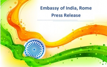 Press Release by the Ministry of External Affairs, Government of India on the visit of His Excellency Prime Minister of Italy, Prof. Giuseppe Conte to India.