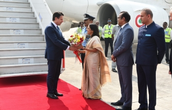 Oct 30th: His Excellency Prime Minister of Italy Mr. Giuseppe Conte visited India on an official visit at the invitation of PM Narendra Modi for the DST-CII Technology Summit 2018.