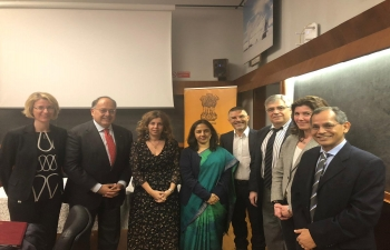 Interesting discussion on 18th March at Sapienza University, Rome on long-standing and fruitful collaboration in Science & Technology between India and Italy. Thanks to Rector Eugenio Gaudio and his team, CNR, Farnesina & Lazio Region for their support.