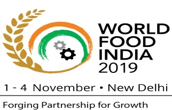 Ministry of Food Processing Industries is organising the 2nd Edition of World Food India from 1-4 November, 2019 at New Delhi