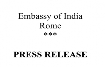 Visit of External Affairs Minister Dr. S. Jaishankar to Rome