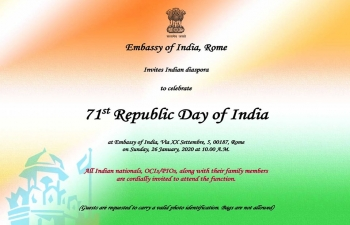 Celebration of Republic Day of India