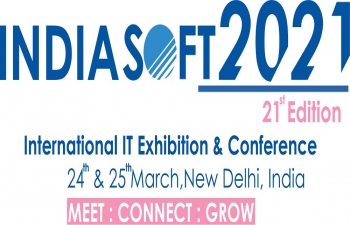 21st edition of ESC's flagship event – INDIASOFT – International IT Exhibition & Conference on March 24-25, 2021