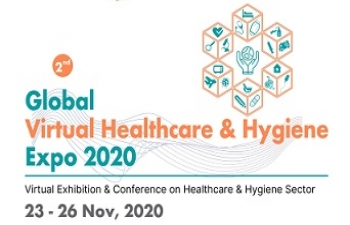 Global Virtual Healthcare & Hygiene Expo 2020' from 23rd – 26th November 2020