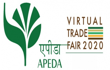 Virtual Trade Fairs by Agricultural and Processed Food Products Export Development Authority (APEDA) from January 2021 to first week of March 2021.