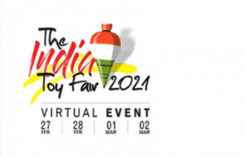 'The India Toy Fair 2021' scheduled to be held from 27 February – 2 March 2021 on virtual platform.