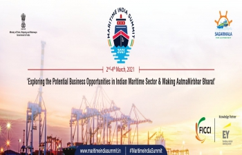 Maritime India Summit 2021' Virtual Summit, organised from 2nd March 2021 to 4th March 2021.