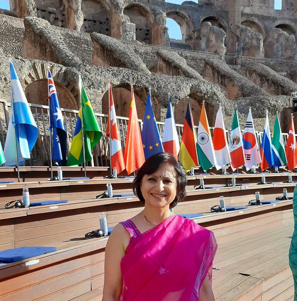 Opening ceremony of G20 Culture Ministerial meeting at Colosseum, Rome
