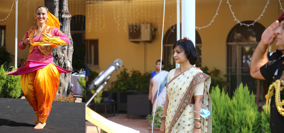 75th Indian Independence Day Celebrations at Embassy of India, Rome